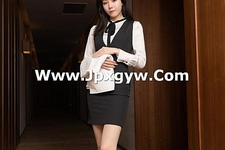 XiuRen第3042期_嫩模安然Maleah房务经理主题脱白衬衣露蕾丝内衣诱惑写真86P