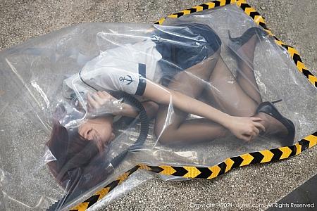 XiuRen第3095期_女神就是阿朱啊三亚旅拍生化危机主题大尺度露火辣美体诱惑写真65P