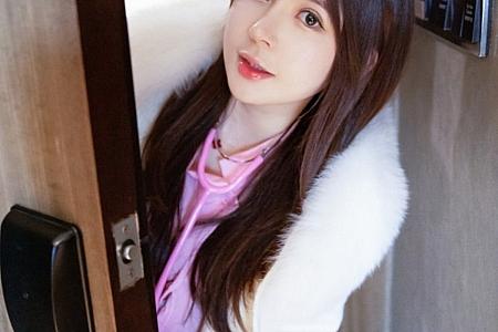 XiuRen第3143期_嫩模奶油妹妹私房粉色护士制服主题秀童颜巨乳火辣身材诱惑写真39P