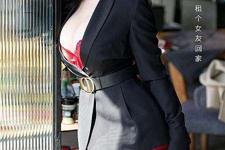 XiuRen第3148期_女神允爾元宵节剧情主题猩红内衣配蕾丝吊袜秀丰乳肥臀诱惑写真58P