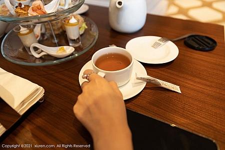 XiuRen第3176期_女神王雨纯厦门旅拍下午茶主题酒店剧情循序渐进发展诱惑写真70P