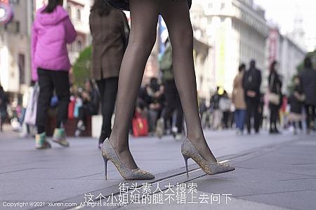 XiuRen第3232期_嫩模周慕汐baby街头素人剧情主题私房超薄黑丝裤袜惹火诱惑写真88P
