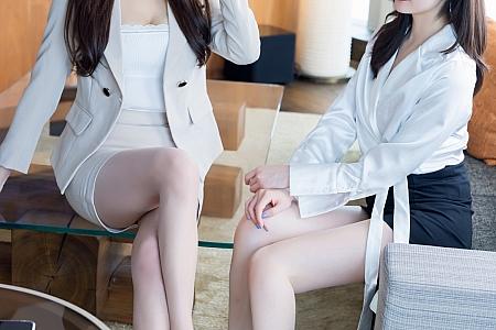 [IMISS爱蜜社]Vol.570_气质模特Lavinia肉肉&SISY思私房性感姐妹花蕾丝内衣诱惑写真53P