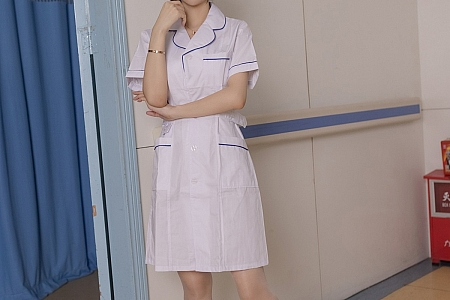 [IMISS爱蜜社]Vol.580_女神Angela00淡雅靓丽护士制服露性感白色内衣迷人诱惑写真53P