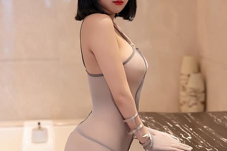 [XiaoYu画语界]Vol.532_嫩模豆瓣酱私房浴缸魅惑情趣内衣配黑丝吊袜湿身诱惑写真52P