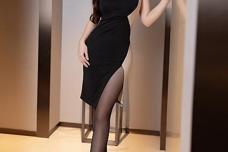 [XiaoYu画语界]Vol.545_嫩模林星阑私房魅惑黑色服饰脱黑丝裤袜撩人诱惑写真70P