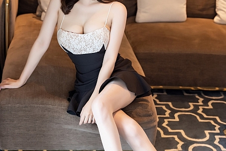 [IMISS爱蜜社]Vol.606_气质女神Lavinia肉私房脱吊裙露性感内衣秀丰满身材诱惑写真42P