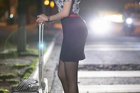 [XiaoYu画语界]Vol.561_女神芝芝Booty私房空乘制服半脱露性感内衣黑丝裤袜诱惑写真90P