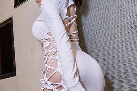 XiuRen第3680期_女神周于希Sandy浴缸洁白动人服饰配蕾丝袜湿身撩人诱惑写真101P