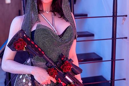 XiuRen第3805期_模特龙女宝宝捆束训导主题性感情趣服饰露豪乳遮点极致诱惑写真50P