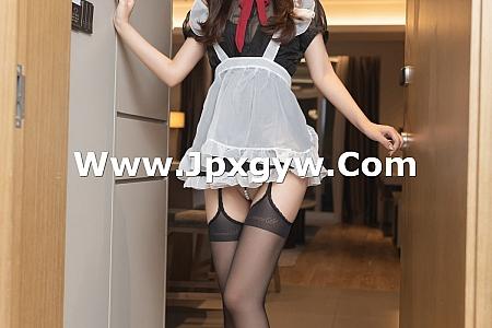 XiuRen第3843期_模特唐安琪私房情趣女仆装配黑丝吊袜秀完美身材撩人诱惑写真62P